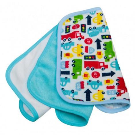 Imagine 1Laveta moale pentru spălarea bebelusilor 3/set