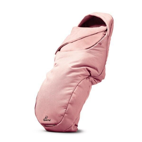 Salopeta bebelus (Tip Footmuff) Pink Pastel