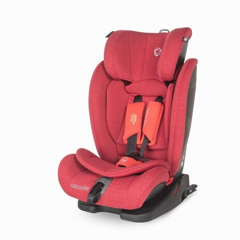 Imagine 1Scaun auto cu Isofix 9-36 kg Coccolle Elara Aurora Red