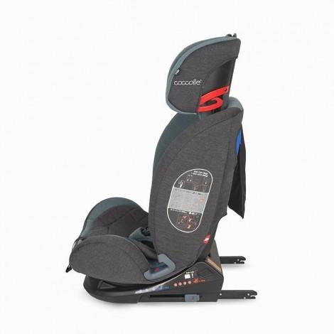 Imagine 5Scaun auto cu Isofix 0-36 kg Coccolle Sedna Raven Gray