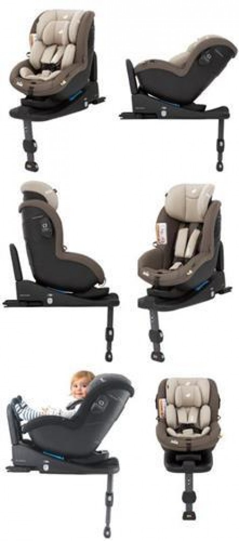 Imagine 4Scaun auto cu isofix i-Anchor Advance i-SIZE Wheat+ Baza I size 0-18 Kg