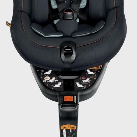 Imagine 4Scaun Auto Rotativ 360 Isofix KEPLERO 0-18kg Black