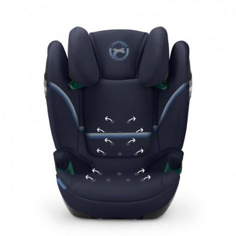Imagine 3Scaun Auto Solution S I-Fix 15 - 36 Kg, Granite Black
