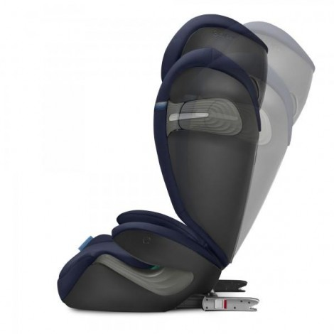 Imagine 5Scaun Auto Solution S I-Fix 15 - 36 Kg, Granite Black