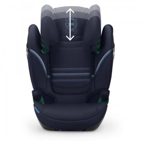 Imagine 2Scaun Auto Solution S I-Fix 15 - 36 Kg, Navy Blue