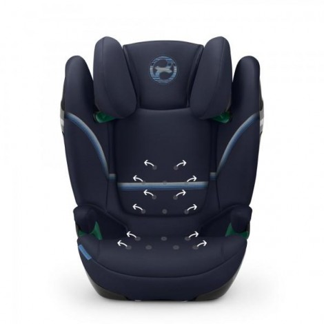 Imagine 3Scaun Auto Solution S I-Fix 15 - 36 Kg, Navy Blue