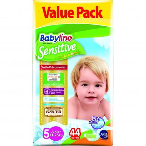 Imagine 1Scutece Babylino Sensitive Economy N5 11-25kg/44 buc