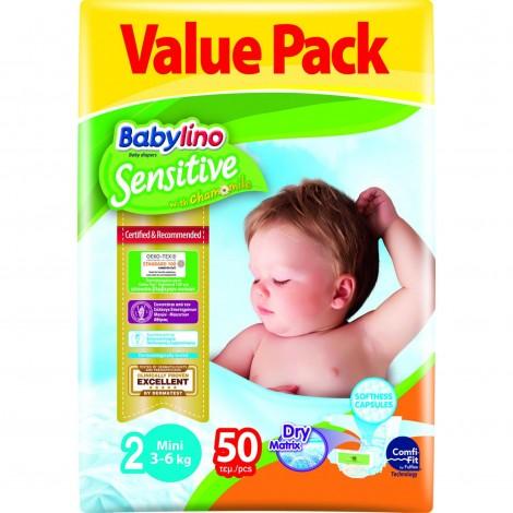 Imagine 1Scutece Babylino Sensitive Economy N2 3-6kg/50 buc