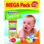Imagine 1Scutece Babylino Sensitive Megapack Maxi N4/78 buc