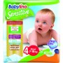 Imagine 1Scutece Babylino Sensitive N4 7-18kg/20 buc