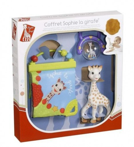 Imagine 2Set cadou jucarii activitati Girafa Sophie