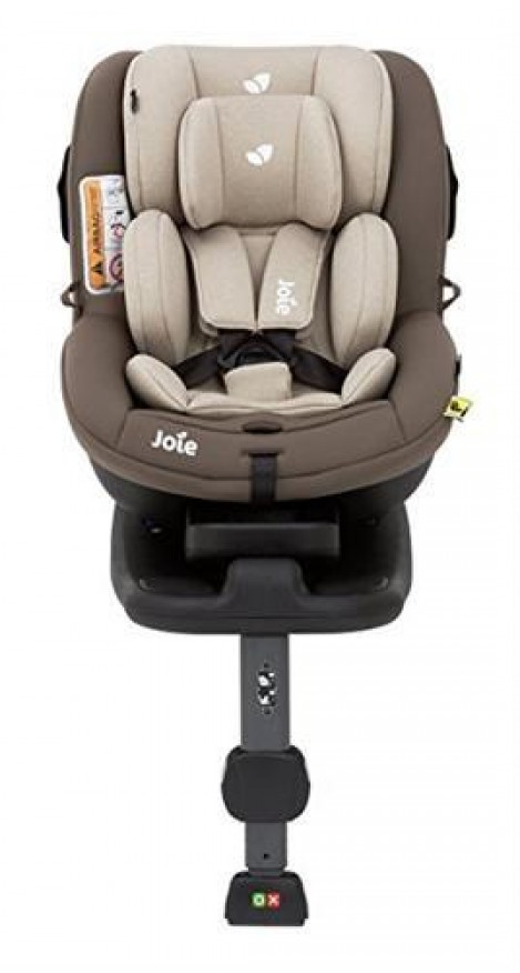 Imagine 5Set: Scaun auto i-Anchor Advance i-SIZE Wheat + Scoica auto i-Gemm Foggy Gray + Baza Isofix I Size