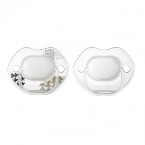 Imagine 3Set Suzete Ortodontice Urban, 0-6 Luni, 2 buc