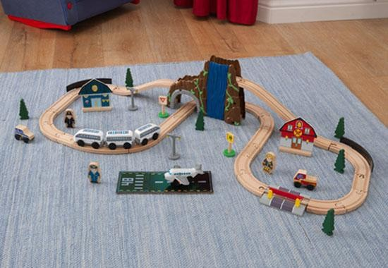 set_trenulet_euro_express_train_set_kidkraft_1
