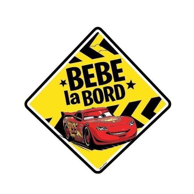 Semn auto Bebe la Bord Cars