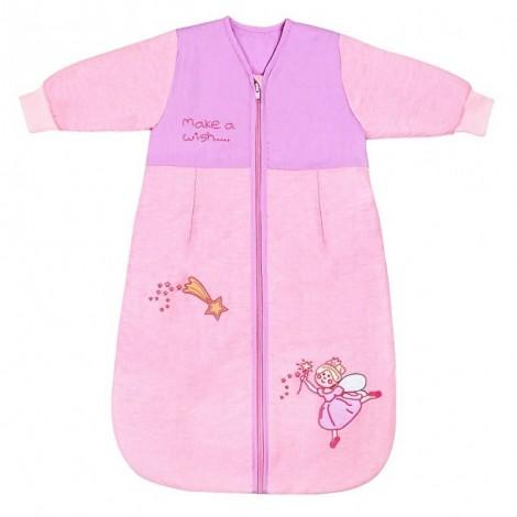 Imagine 1Sac de dormit cu maneca lunga Pink Fairy 0-6 luni 2.5 Tog