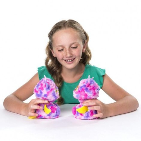 Imagine 2Ou surpriza Hatchimals - Gemenii roz/galbeni