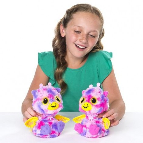 Imagine 3Ou surpriza Hatchimals - Gemenii roz/galbeni
