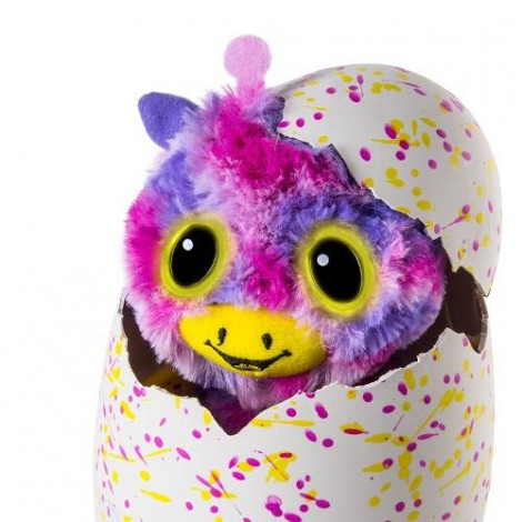Imagine 4Ou surpriza Hatchimals - Gemenii roz/galbeni