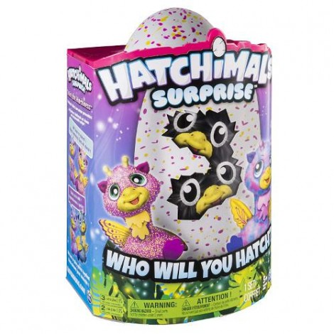 Imagine 6Ou surpriza Hatchimals - Gemenii roz/galbeni