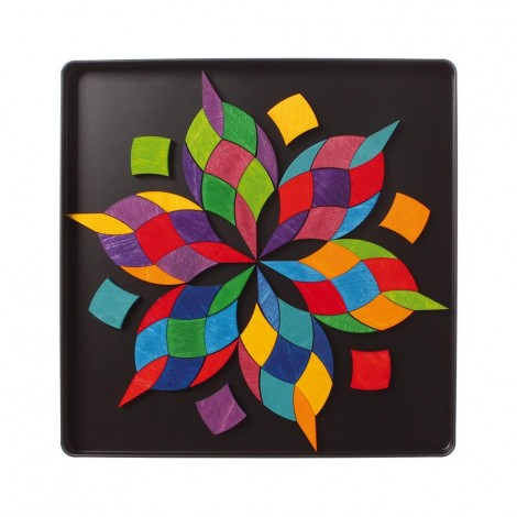 Imagine 4SPIRALA CULORILOR - PUZZLE MAGNETIC
