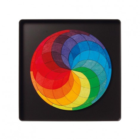 Imagine 1SPIRALA CULORILOR - PUZZLE MAGNETIC