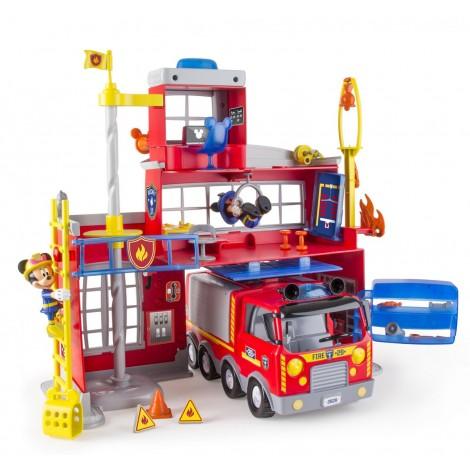 Imagine 2Staƫie de pompieri cu efecte luminoase si sonore