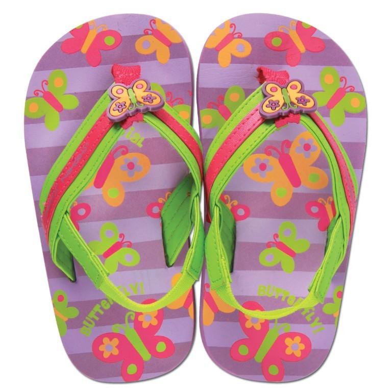 Sandalute pentru plaja Butterfly
