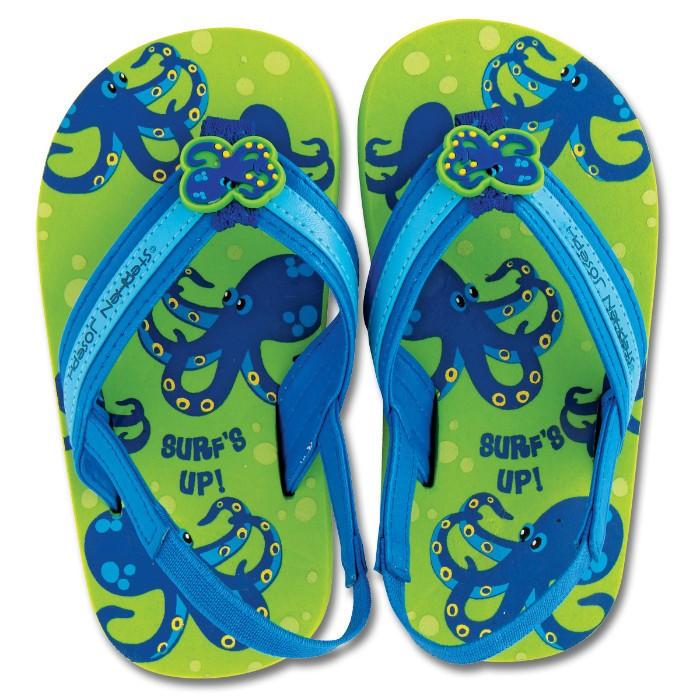 Sandalute pentru plaja Octopus