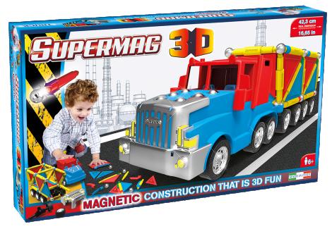 Imagine 2Jucarie magnetica  - Camion