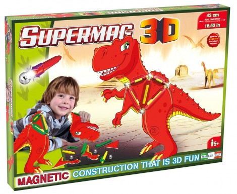 Imagine 2Jucarie magnetica  - T-Rex
