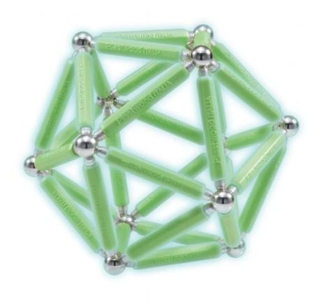 Imagine 4Set constructie luminos, 66 piese