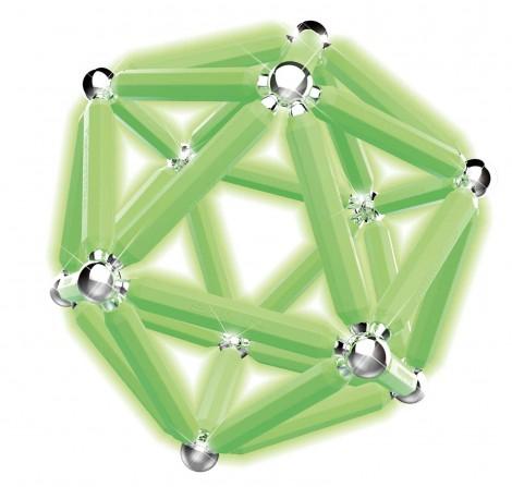 Imagine 6Set constructie luminos, 66 piese
