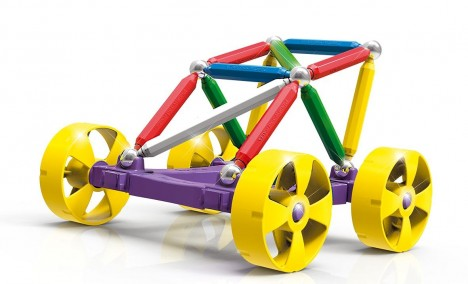 Imagine 3Set constructie Maxi Wheels, 40 piese