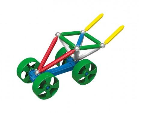 Imagine 5Set constructie Maxi Wheels, 40 piese