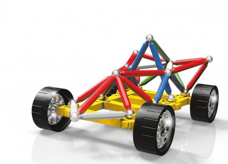 Imagine 2Set constructie Maxi Wheels, 76 piese
