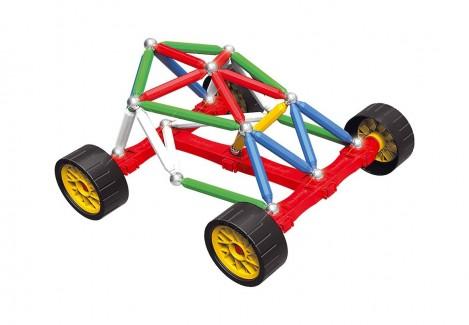 Imagine 3Set constructie Maxi Wheels, 76 piese