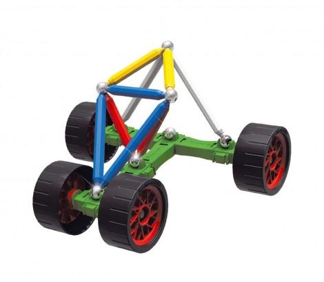 Imagine 4Set constructie Maxi Wheels, 76 piese