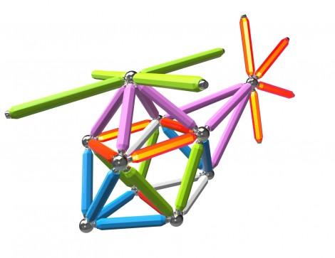 Imagine 5Set constructie Neon, 92 piese