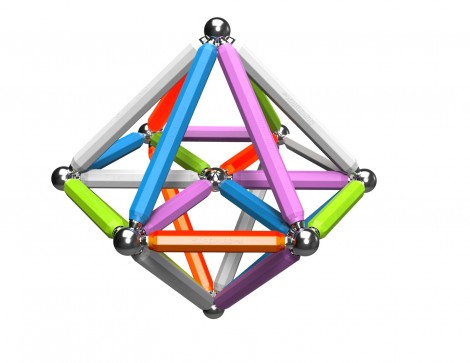 Imagine 6Set constructie Neon, 92 piese