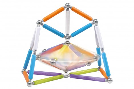 Imagine 4Set constructie Neon, 66 piese
