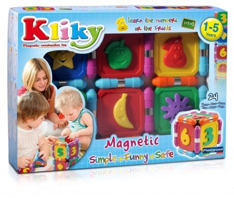 Imagine 1Set Magnetic - Sa Invatam Fructele