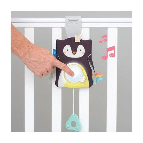 Imagine 5Jucarie multifunctionala cu inel gingival-Pinguinul Prince