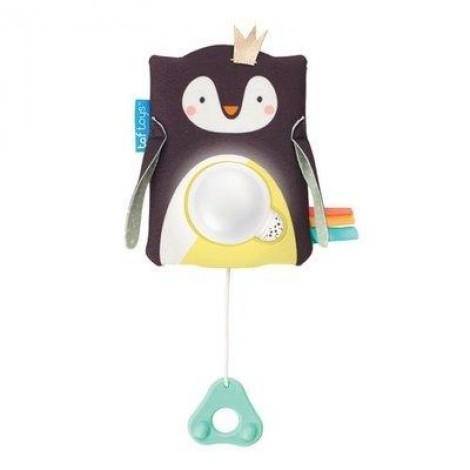 Imagine 1Jucarie multifunctionala cu inel gingival-Pinguinul Prince