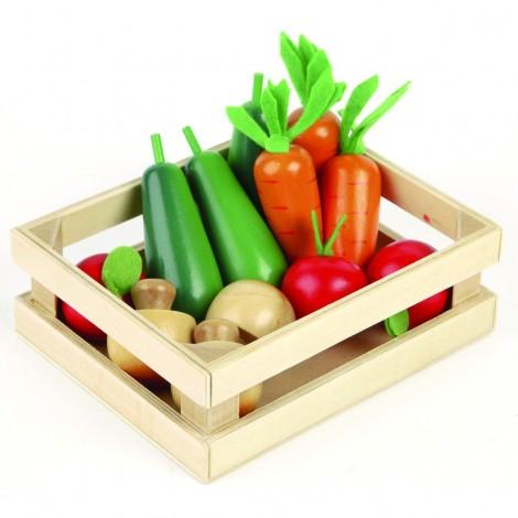 Imagine 1Ladita cu legume din lemn