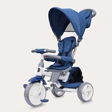 Imagine 1Tricicleta cu sezut rotativ Coccolle Evo (2019) Albastru