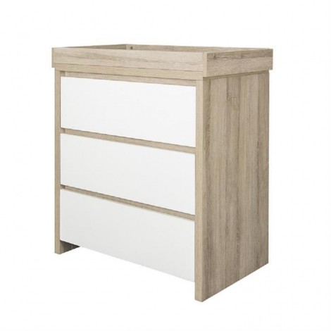 Imagine 3Comoda Modena White & Oak