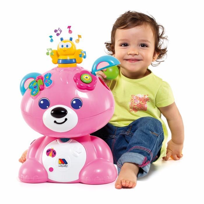 Ursulet roz cu activitati