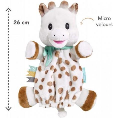 Imagine 2Marioneta Girafa Sophie din plus