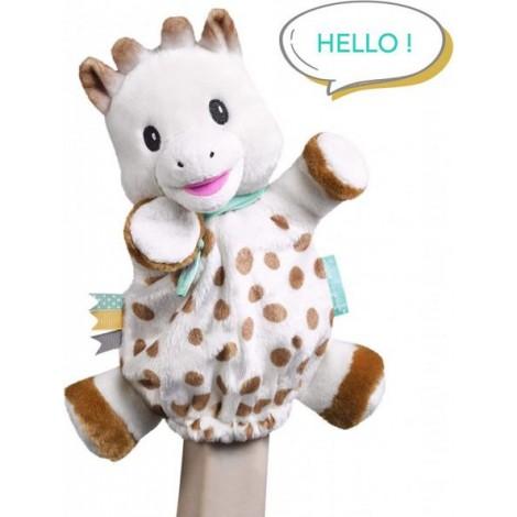 Imagine 1Marioneta Girafa Sophie din plus